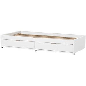 Ausziehbett Deluxe mit Schubladen, 90 x 190 cm
