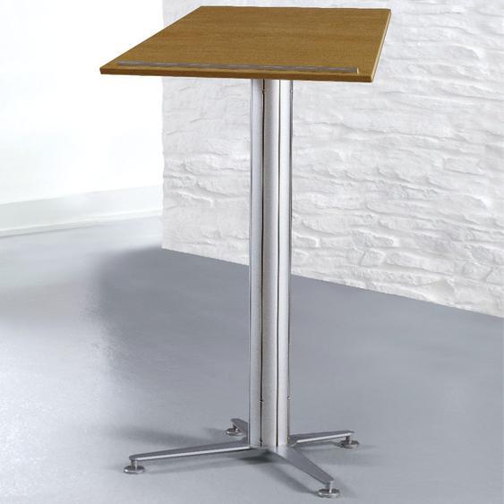 STANDINGS Stehpult System mit Arbeitsplatte in Dekor Buche, b80xt50xh118,5cm