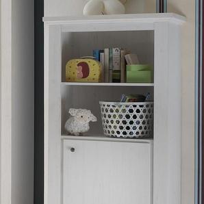 Standregal »Dandy«, mit 1 Tür und 2 verstellbaren Einlegeböden, weiß