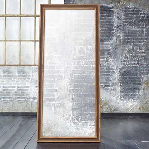Standspiegel aus Sheesham Massivholz Landhausstil