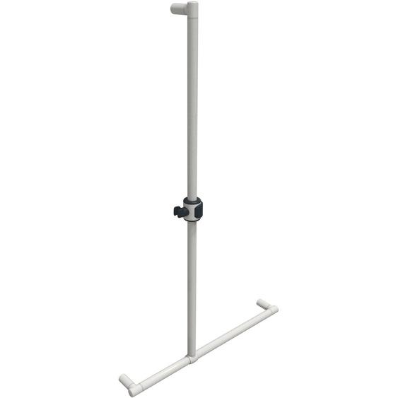 Stangengriff, 70x120.5 cm (BxH), ERLAU, weiß, Material Aluminium
