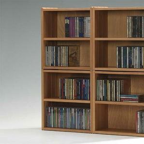Stapelbox für CDs Wasa beige, 37x37x18 cm