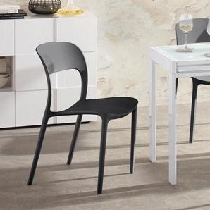 Stühle, schwarz