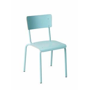 Stapelstuhl College blau, Designer Perfecta, 79.5x46x50 cm