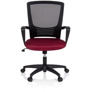 STAR-TEC YU - Home Office Bürostuhl Schwarz/Rot