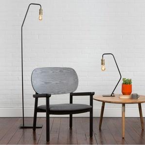 Starkey Stehlampe, Schwarz und Messing