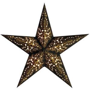 Starlightz Mono Black/gold Earth Friendly Leuchtstern