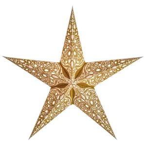 Starlightz Raja Small Gold Earth Friendly Leuchtstern