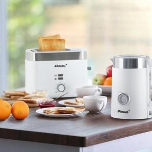 Steba Toaster »TO 10 BIANCO«  - Weiß - Edelstahl -