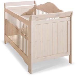 Steens Babybett ,Weiß ,Lack / Hochglanz