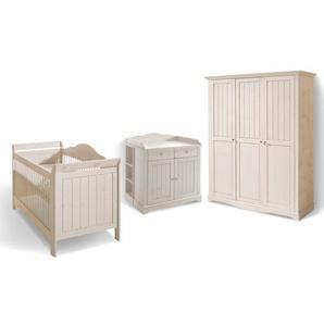 Steens Babyzimmer-Set, Weiß, Holz