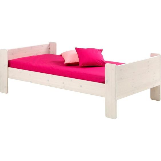 STEENS Bett FOR KIDS, in verschiedenen Farben 90x200 cm weiß Kinder Kinderbetten Kindermöbel Betten