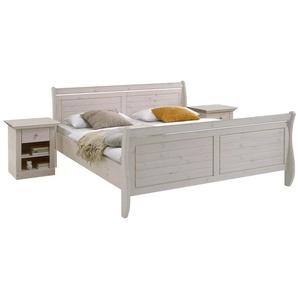 Steens Monaco Bett 180x200, Weiß lasiert