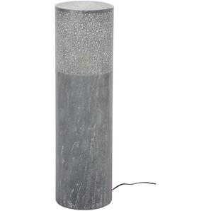 Stehlampe, Alu, Eisen, Stahl & Metall 90 cm