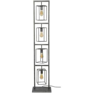 Stehlampe, Alu, Eisen, Stahl & Metall