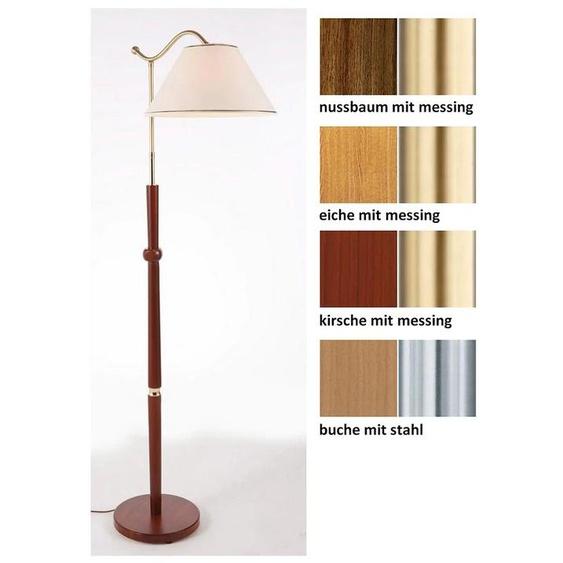 Stehlampe Boyleuchte, E27 1 flg., Höhe: 150 cm braun Standleuchten Stehleuchten Lampen Leuchten