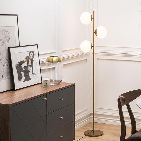 Stehlampe gold 153 cm WADI