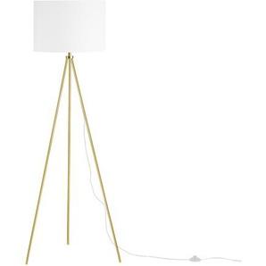 Stehlampe gold/weiß 148 cm VISTULA