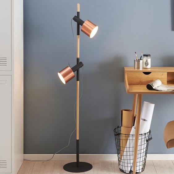 Stehlampe schwarz 149 cm OWENS