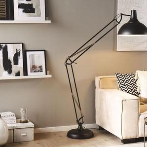 Stehlampe schwarz 175 cm PARANA