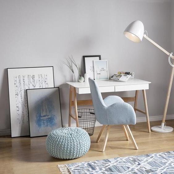 Stehlampe weiß 175 cm HETTON