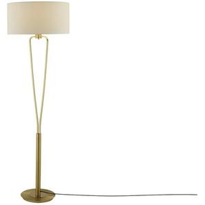 Stehleuchte, 1-flammig messing matt | gold | 160 cm | Möbel Kraft