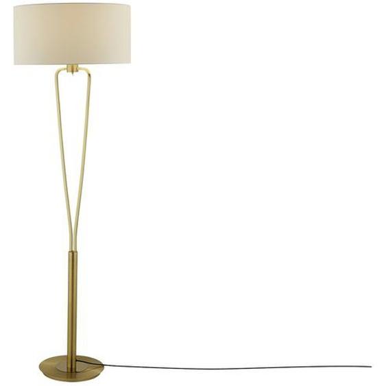Stehleuchte, 1-flammig messing matt - gold | Möbel Kraft