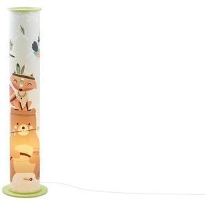 Stehleuchte, 2-flammig, grün - mehrfarbig - 95 cm | Möbel Kraft