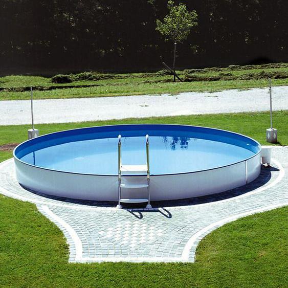 Steinbach Pool Set Styria Ø 350 x 120 cm ohne Filter (12305)
