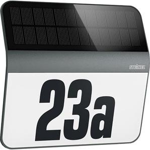 Steinel LED-Hausnummern-Leuchte XSolar LH-N Anthrazit