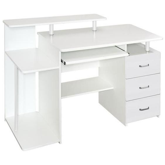 STELLA | 137x60 - Schreibtisch Weiß