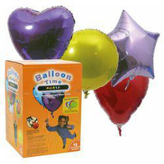 Stellfeld und Ernst Helium-Ballon-Kit Balloon-Time Party Special Edition