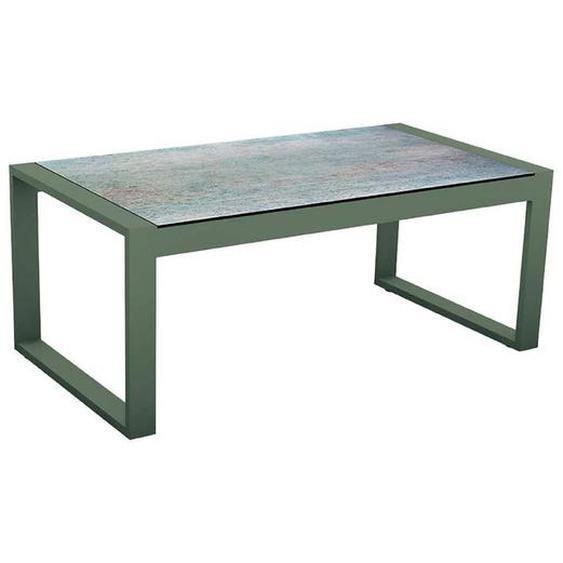 Stern Gartentisch, Grau, Aluminium