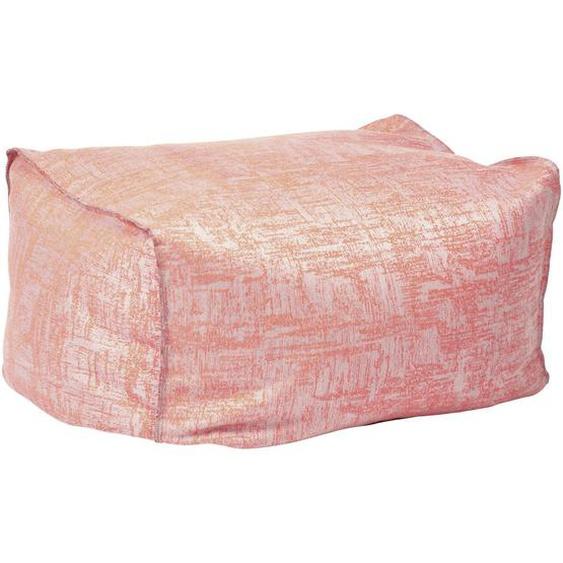 Stern Outdoorsitzsack , Koralle , Textil , 70x40x50 cm