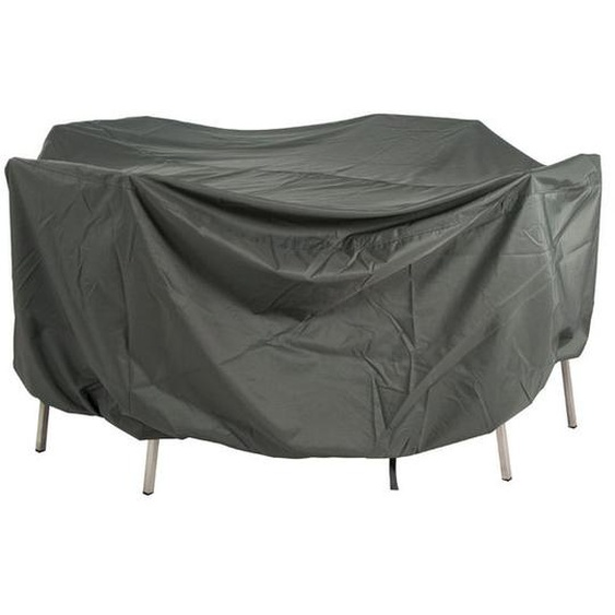 Stern Schutzhülle für Sitzgruppen 210x250x90cm oval Grau Dunkelgrau