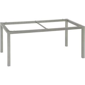 Stern Tischgestell , Graphit , Metall , eckig , 80x72 cm , Gartenmöbel, Gartentische