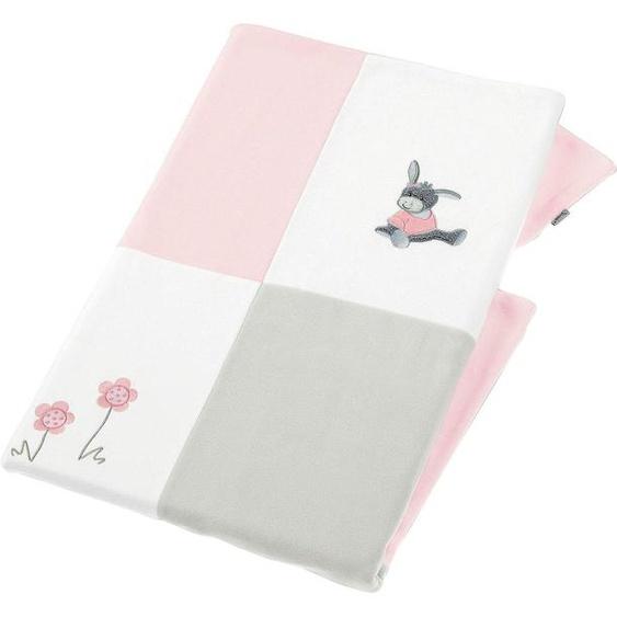 Sterntaler® Babydecke  »Emmi Girl«, 75x100 cm, rosa