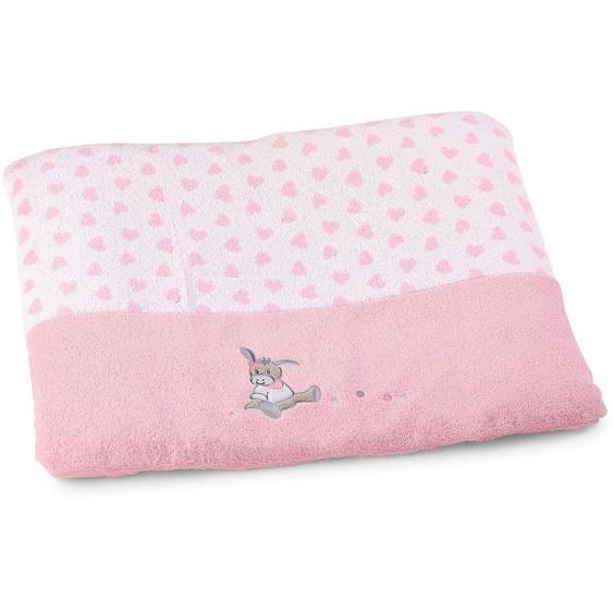 Sterntaler Wickelauflagenbezug Emmi Girl Einheitsgröße rosa Kinder Wickelauflagen Baby wickeln Wickelauflagenbezüge