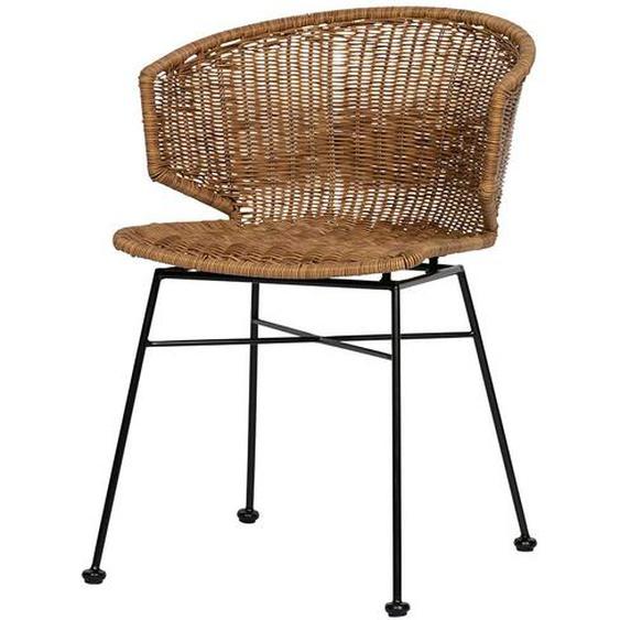 Stühle aus Kunstrattan Braun In- und Outdoor geeignet (2er Set)
