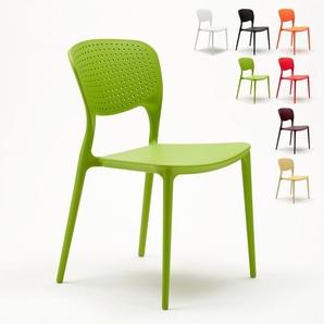 Stock 20 Stühle Küchenstuhl Esstischstuhl Esszimmerstuhl Gartenstühle GIULIETTA   Grün - AHD AMAZING HOME DESIGN