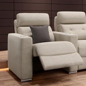 Stoff 3-Sitzer Sofa MATERA mit Funktion