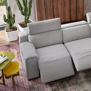 Stoff 3-Sitzer XXL LORETO Relax Sofa Couch