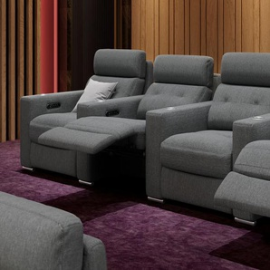 Stoff 4-Sitzer Couch MATERA Relaxcouch