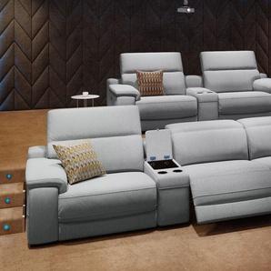 Stoff Heim Kino Sofa SORA Relax Couch