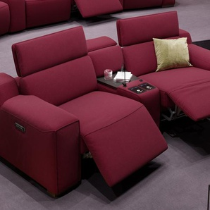 Stoff Kino Couch LORETO Relaxsofa