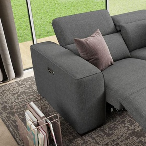 Stoffcouch BINETTO 2-Sitzer Sofa