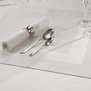 Stoffserviette , weiß, 50x50cm, Öko-Tex-Zertifikat, »Damast, 3400 Atlas«, , , Curt Bauer