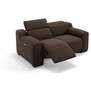 Stoffsofa 2-Sitzer LORETO Couch Relaxcouch