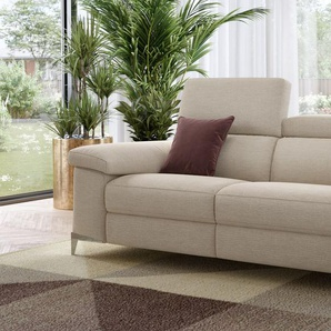 Stoffsofa kleine Couch Garnitur VENOSA