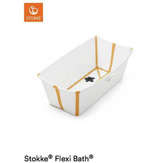 Stokke Faltbare Babybadewanne , Orange , Kunststoff , 35x24 cm